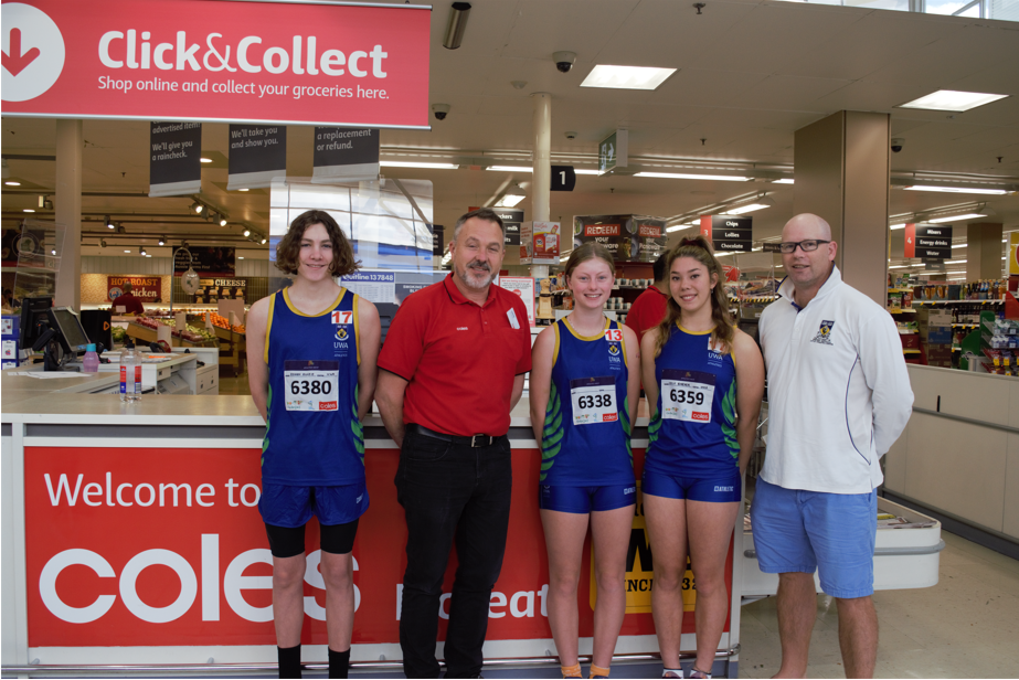 UWALAC receives a grant from Coles to help purchase Hurdles & High Jump Equipment